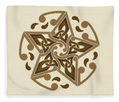 Celtic Star Fleece Blanket