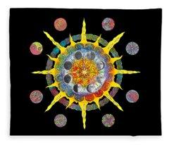 Celtic Stargate Fleece Blanket