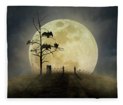 Cemetery Hill Fleece Blanket