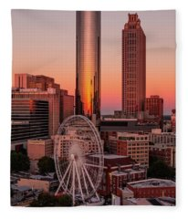 Centennial Olympic Park Fleece Blanket