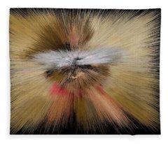Center Of Infinity Angel Fleece Blanket