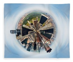 Eye Of New York Fleece Blanket