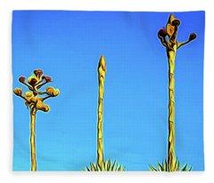 Century Plant Fleece Blanket