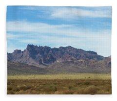 Cerbat Mountains Fleece Blanket