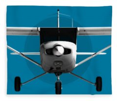 Cessna 152 Fleece Blanket