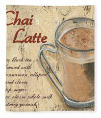 Chai Latte Fleece Blanket