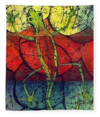 Chameleon Fleece Blanket