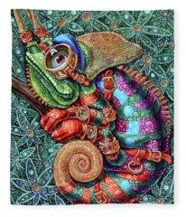 Chameleon Fleece Blanket