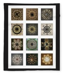 Collection Poster Chandeliers From Russia Fleece Blanket