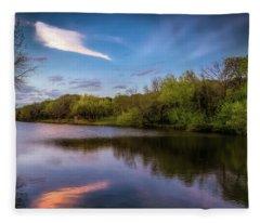 Chandler Lagoon Fleece Blanket