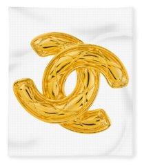 Chanel Jewelry-4 Fleece Blanket