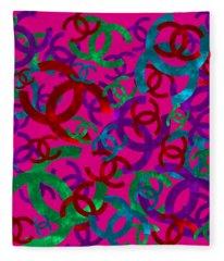 Chanel Sign-6 Fleece Blanket