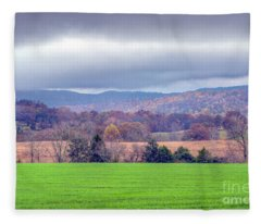 Changing Seasons Fleece Blanket