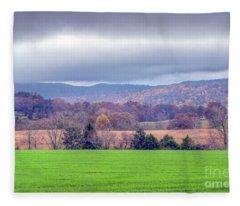 Changing Seasons Fleece Blanket