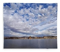 Changing Skies Fleece Blanket
