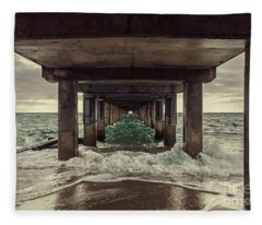 Changing Tides Fleece Blanket