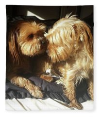 Sister And Brother Fleece Blanket