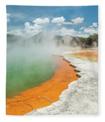 Champagne Pool Fleece Blanket