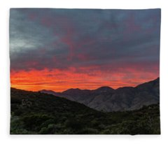 Chaparral Dreams Fleece Blanket