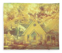 Chapel Of Love Fleece Blanket
