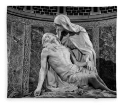 Chapel Of The Pieta 2 Fleece Blanket