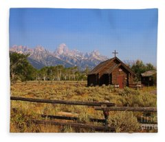 Chapel Of The Transfiguration Fleece Blanket