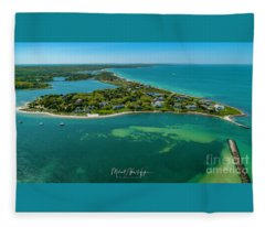 Chapoquoit Island Fleece Blanket