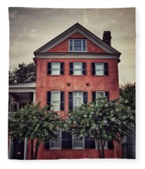 Charleston Single House 1 Fleece Blanket