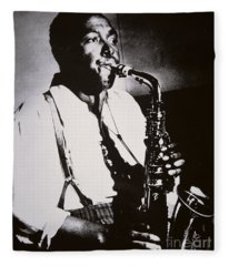 Charlie Parker Fleece Blanket