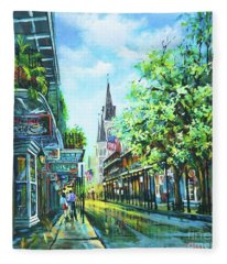 Chartres Afternoon Fleece Blanket