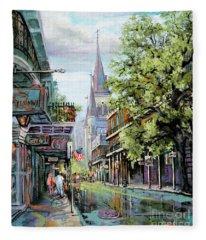 Chartres Rain Fleece Blanket