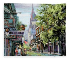 Chartres Rain Fleece Blanket