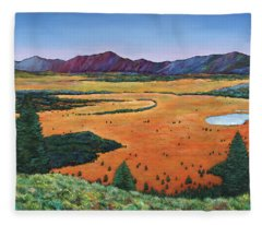 Chasing Heaven Fleece Blanket