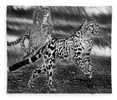 Chasing Mum Fleece Blanket