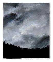 Chasing The Storm Fleece Blanket
