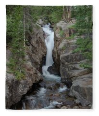 Chasm Falls 2 Fleece Blanket
