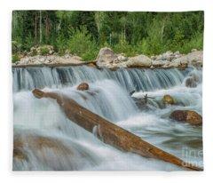 Chasm Falls Fleece Blanket