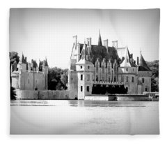 Chateau De La Bretesche - France Fleece Blanket