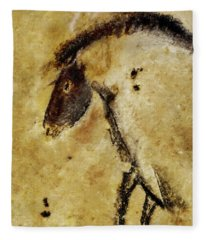 Chauvet Horse Fleece Blanket
