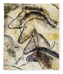 Chauvet Horses Fleece Blanket