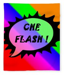 Che Flash Fleece Blanket