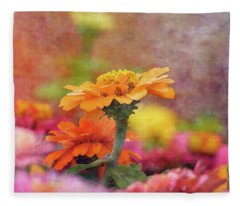 Cheerful Shades Of Optimism 1311 Idp_2 Fleece Blanket