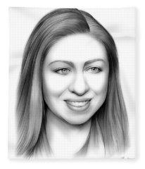 Chelsea Clinton Fleece Blanket
