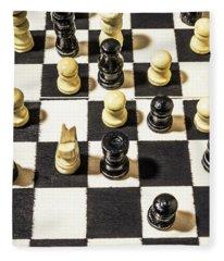 Chequered Strategic Battle Fleece Blanket