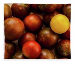 Cherry Heirloom Tomatoes Fleece Blanket