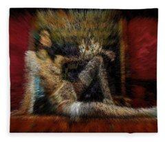 Cherry Room Princess Fleece Blanket