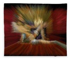 Cherry Room Queendom Fleece Blanket