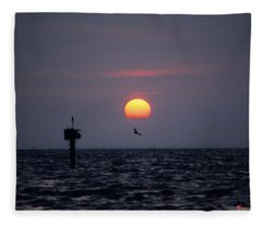 Chesapeake Bay Osprey 14o Fleece Blanket