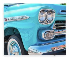 Chevrolet Apache Truck Fleece Blanket