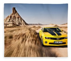 Chevrolet Camaro Fleece Blanket